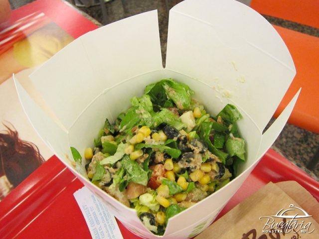 review salad box