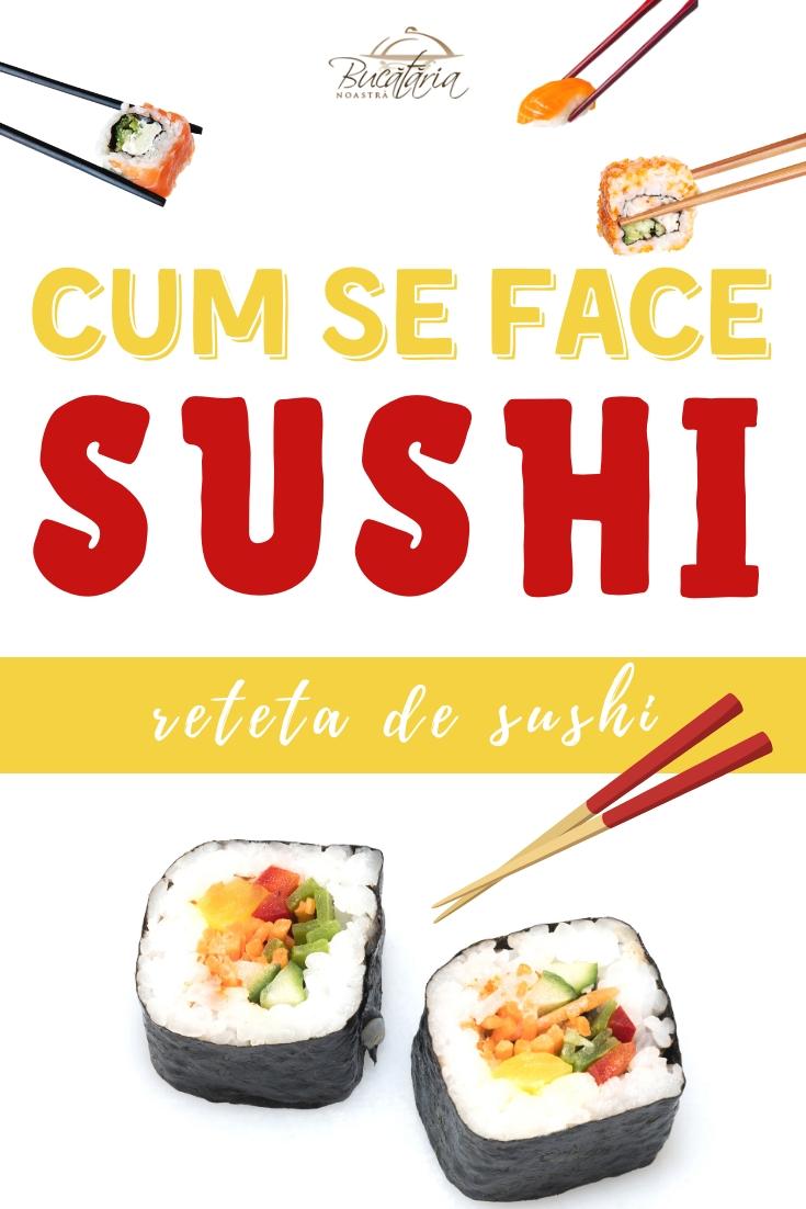 cum se face sushi