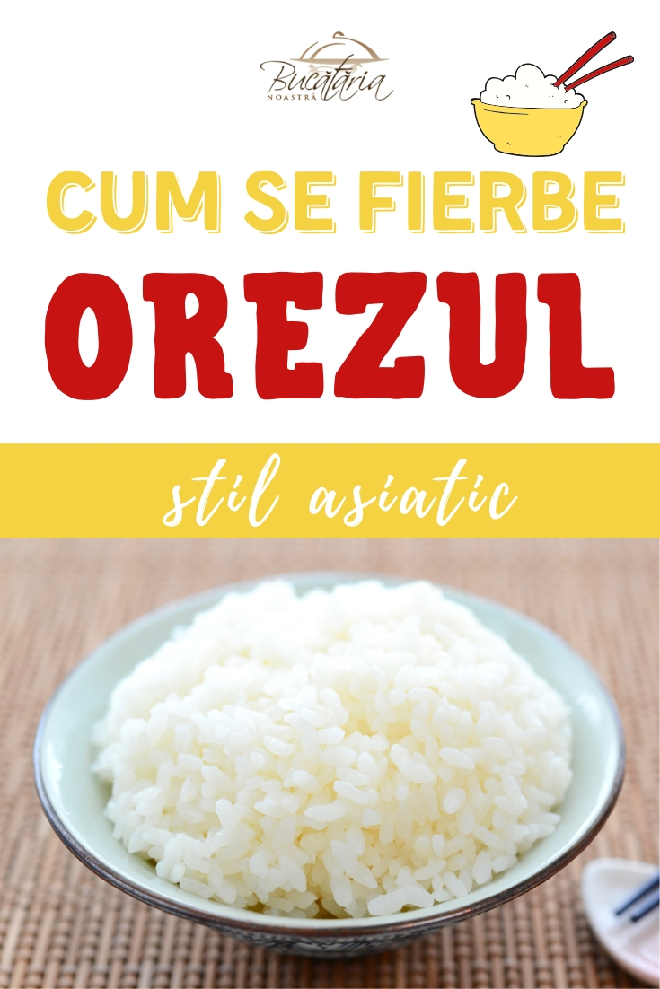 Cum se fierbe orezul perfect
