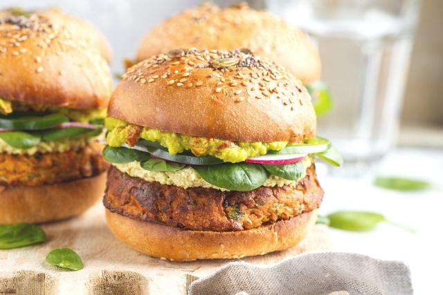 Burger vegan reteta