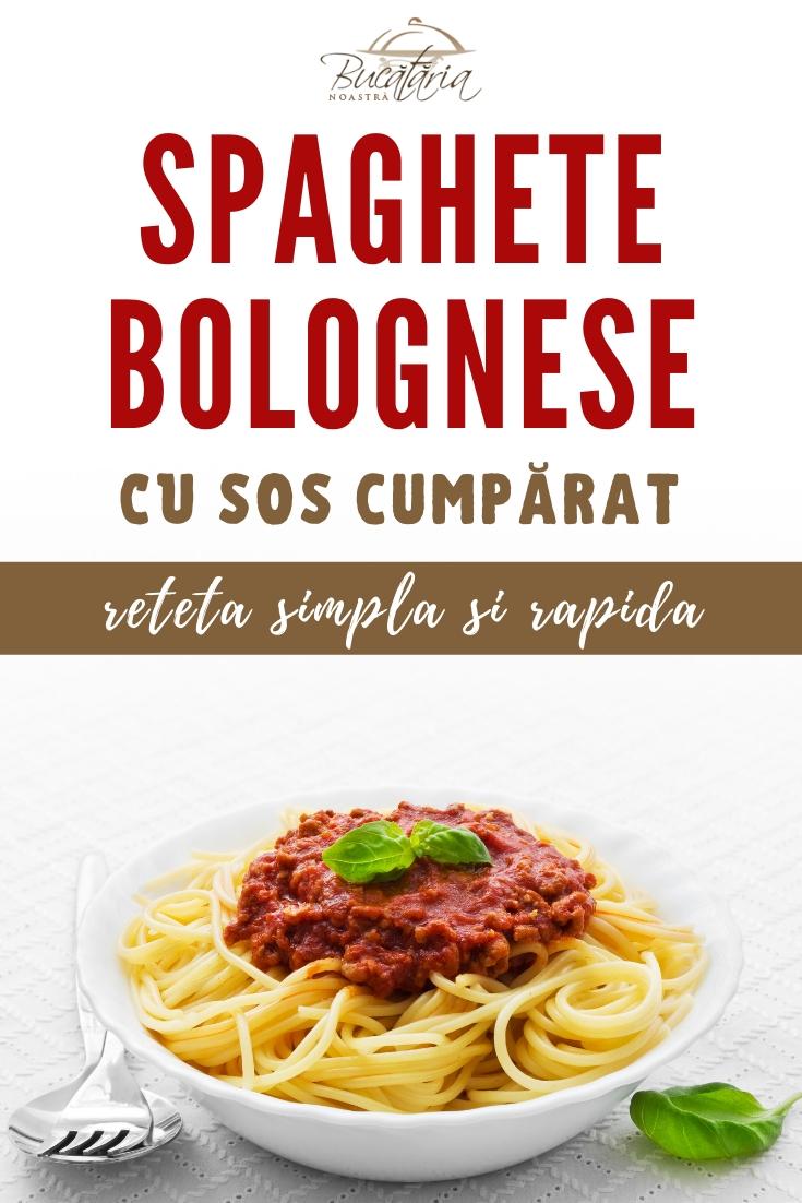 Spaghete Bolognese cu Sos la Borcan