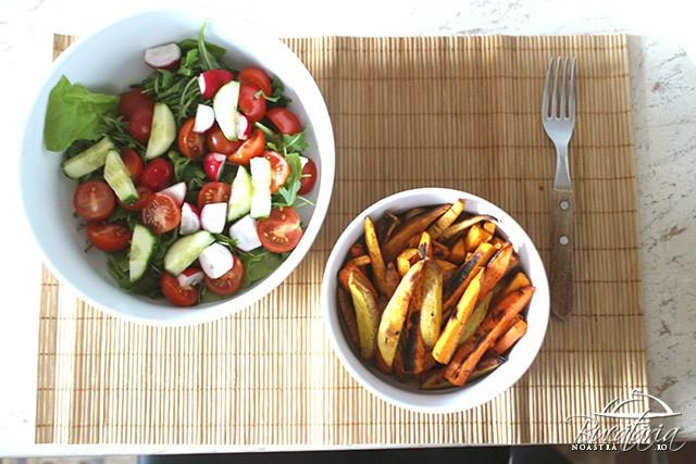 reteta cartofi prajiti dietetici