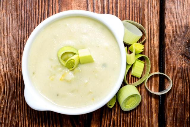 Supa dietetica de praz