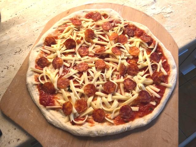 blat pizza reteta
