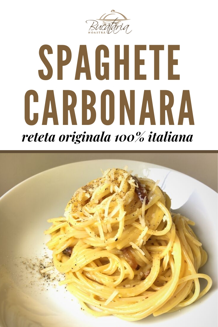 Reteta carbonara originala italiana