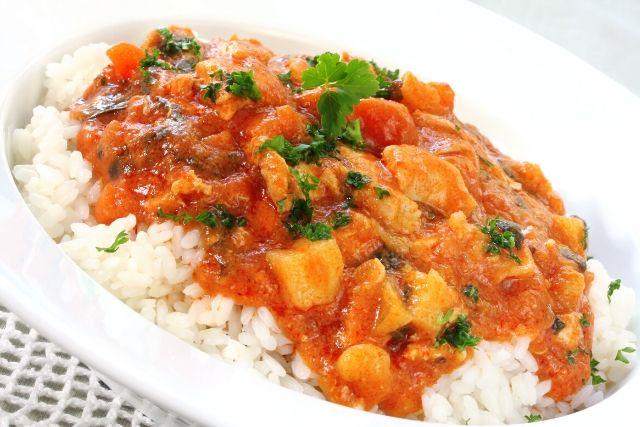Curry de legume - reteta de post
