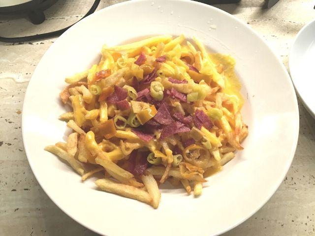 Reteta sos de branza pentru cartofi prajiti