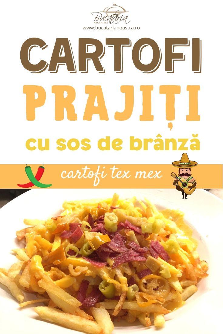 Reteta sos de branza - Cartofi prajiti in stil mexican