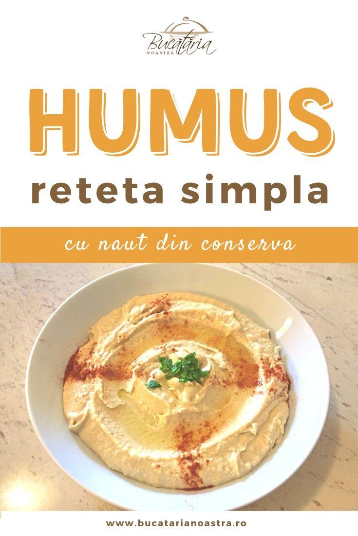 Reteta de humus simpla si gustoasa