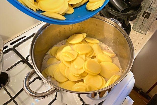 Cartofi la cuptor de post - Reteta vegana - Pasul 3